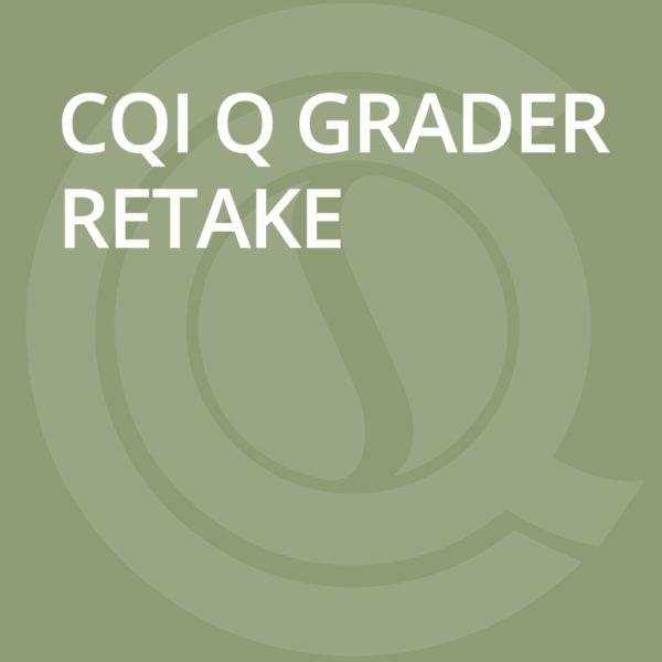 CQI Q GRADER Retake